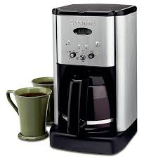Top three cuisinart coffee makers. Cuisinart Brew Central 12 Cup Programmable Coffee Maker