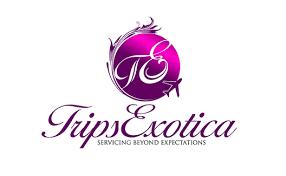 travel pany logo design trips exotica