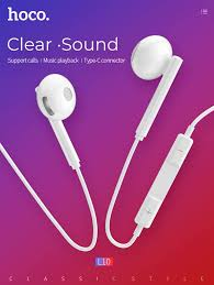 <b>hoco</b>.<b>L10 Acoustic Type- C</b> Wired... - NICE ONE Mobile SHOP ...