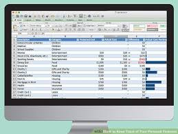 How To Keep Track Of Your Personal Finances 8 Steps