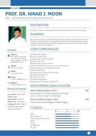 Dentist Resume Sample India 1 Date Of Birth 8 Gender Male Marital