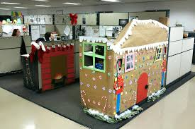 christmas decoration ideas for office. Office Cubicle Christmas Decoration Contest Holiday Decorating Ideas In . For E