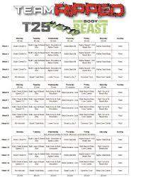 body beast t25 hybrid
