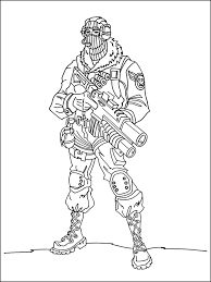 Coloring Pages Fortnite Arenda Stroy