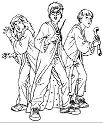 Small Picture Harry Potter Coloring Page Coloring Book