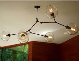 chandelier modern bubble closdurocnoir com modern pyramid glass globes chandelier black