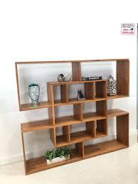 Japanese Bookcase Design Teak Wood Japanese Design Bookshelf Majestic Furniture