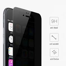 privacy iphone tempered glass black screen protector 9h hardness anti scratch explosion proof for iphone samsung lg moto etc