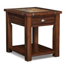 end table. Slate Ridge End Table - Cherry