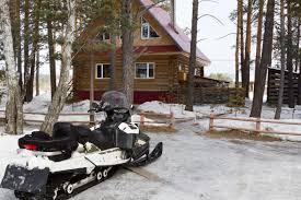 summer snowmobile storage