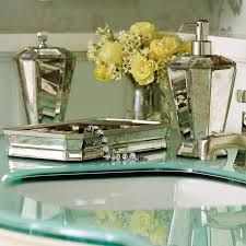 silver mosaic bathroom accessories. related projects. vintage mirrored mosaic bathroom accessories silver l