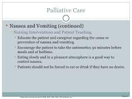 chapter hospice care palliative care