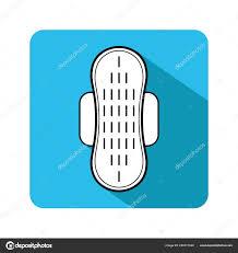 Pad Website Design Pad Feminine Hygiene Monthly Flat Icon Website Design