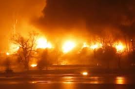 Image result for oil train derailment 2015 WV