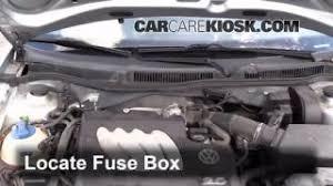 interior fuse box location volkswagen golf  blown fuse check 1999 2006 volkswagen golf