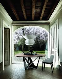 introducing walnut winters warmest wood cantoni skorpio round dining table onassisstylefo