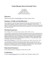Exelent Resume Template For Construction Project Manager Elaboration