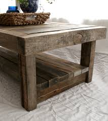 ... Coffee Table, Fascinating Brown Rectangle Traditional Barnwood Coffee  Table Designs To Improve Your Living Room