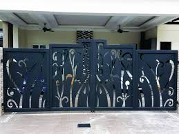 Wrought Iron Grill Designs Malaysia Top 5 Auto Gates In Malaysia Malaysias No 1 Interior