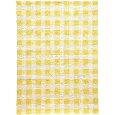yellow and white rug orange ikea burnt