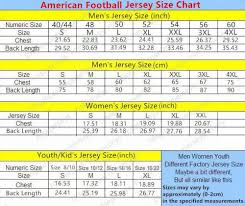 Jersey Size Chart Youth Youth 1 Black Maryland Terrapins Finished Replica Jersey