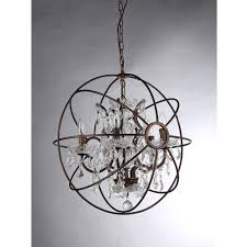 furniture dazzling crystal sphere chandelier 8 checkolite amazing of contemporary
