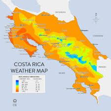 Costa Rica Climate Chart Costa Rica Climate Retire In Costa Rica Part 1