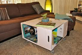 wine crate furniture. Wine Crate Coffee Table DIY Ideas Furniture A