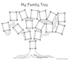 New Free Family Tree Template To Print Konoplja Co