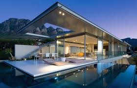 Edgy furniture Black Contemporary Swimming Pool With Edgy Furniture Ideas And Glass Wall For Cool Modern House Plans Cb2 Contemporary Swimming Pool With Edgy Furniture Ideas And Glass Wall