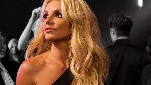 Britney Spears poses topless on ...
