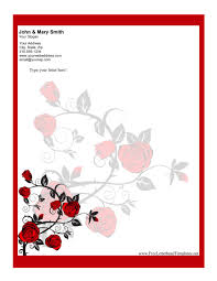 free personal letterhead personal letterhead templates