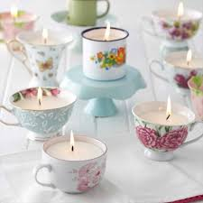 Decorating With Teacups And Saucers You can recycle vintage tea cups that are missing their matching 12