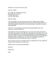 Cover Letter Examples For Nurses What Should Be Included In A Resume