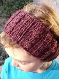 Knitted Ear Warmers Free Pattern