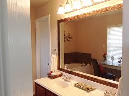 Bathroom Framed Mirrors Framing Bathroom Mirror Beveled Mirror Frame For Bathroom Mirror