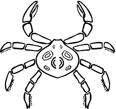 Small Picture Free Printable Crab Coloring Pages For Kids