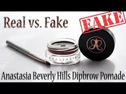 Dipbrow - Youtube Hills Beverly Vs Fake Anastasia Real Pomade