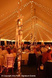 wedding tent lighting ideas. String Lights Around Perimeter Of Tent Strung To Ceiling And Wrapped Poles Wedding Lighting Ideas Pinterest Tents