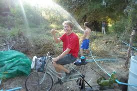 Bicycle Water Pump Design Bicycle Pump Power Permapai Project