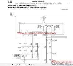 mitsubishi outlander 2003 wiring diagrams auto repair manual