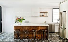 Small Picture Interior Decoration Contemporary Kitchen With Rectangle Brown