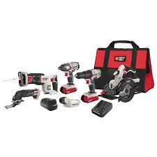 porter cable power tools. porter-cable 6-tool 20-volt max lithium ion (li-ion porter cable power tools f