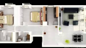 image of unique 2 bedroom house plans 3d
