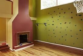 Small Picture Home gym wall ideas home gym transitional with rock climbing wall