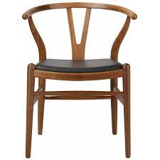 wishbone chair leather pad