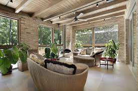 furniture for sunrooms. brick sunroom with wicker furniture for sunrooms r