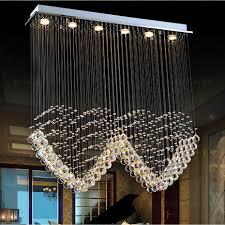Platz Führte Deckenleuchter Lampen Kristall Hängenden