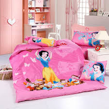 snow white and seven dwarfs pink disney