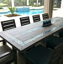 mexican tile table tiled dining table elegant tile top outdoor dining table best ideas about tile mexican tile table